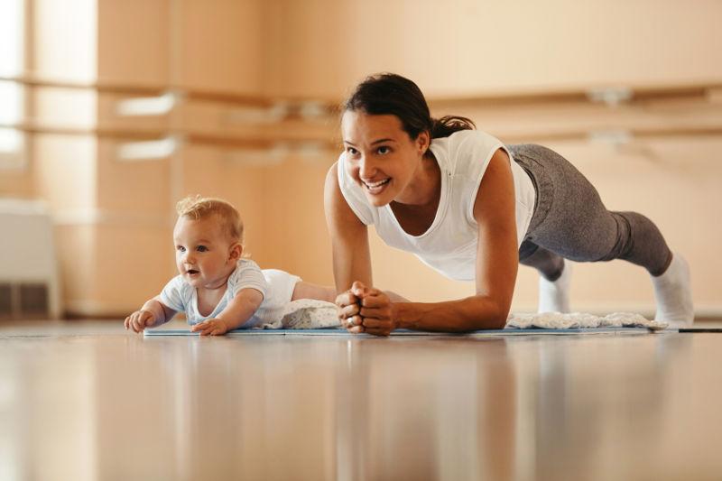 Pilates Mum and Baby